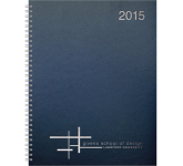 The Director Monthly Planner - Leatherette