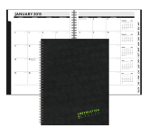 The Analyst Monthly Planner - Leather