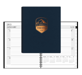 Leather Wrap Xeo Planner - Weekly Calendar