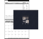 The President Monthly Planner - Leatherette