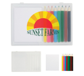 8-Piece Colored Pencil Art Set In Case