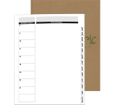 Perfect Planners - Linen Director Monthly