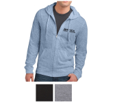 District Young Men's Jersey Full-Zip Hoodie