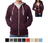 Independent Trading Company Unisex Heather French Terry Z...