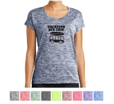 Sport-Tek Ladies' PosiCharge Electric Heather Sporty Tee