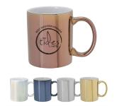 12 oz. Iridescent Ceramic Coffee Mug