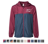 Independent Trading Company Lightweight Windbreaker Jacket