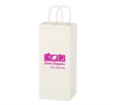 "Kraft Paper White Wine Bag - 5.25"" x 13"""