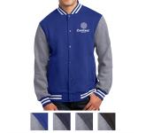 Sport-Tek Fleece Letterman Jacket