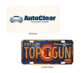Aluminum Custom License Plate