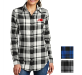 Port Authority Ladies' Plaid Flannel Tunic