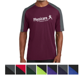 Sport-Tek Men's PosiCharge Competitor Sleeve-Blocked Tee