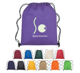 Memphis Non-Woven Hit Drawstring Bag