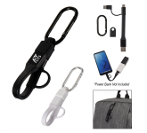 3-In-1 Charging Cable Carabiner