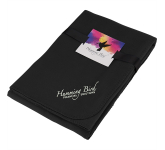 Cozy Fleece Blanket with Full Color Card and Band