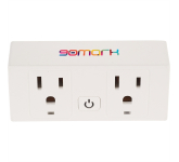 Double Outlet ETL Wifi Smart Plug