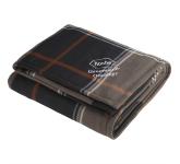 Plaid Fleece Sherpa Blanket