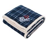 Field & Co.® Plaid Sherpa Blanket