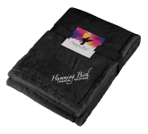 Ultra Plush Faux Fur Throw Blanket with Card