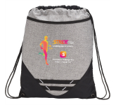 Graphite Hook Drawstring Bag