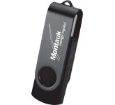 Rotate 2Tone Flash Drive 1GB