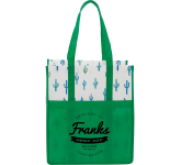 Cactus Laminated Shopper Tote