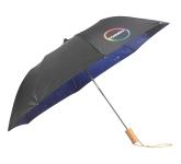 "46"" Clear Night Sky Auto Open Folding Umbrella"