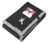 Field & Co.® Oversized Wool Sherpa Blanket w/Card