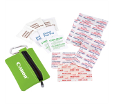 Zippered 20-Piece First Aid Pouch