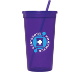 32 oz. Jewel Tumbler With Lid & Straw