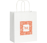 Kraft Paper Small Bag White