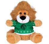 "6"" Ugly Sweater Plush Lion"