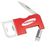 Pinto 3-in-1 Pocket Knife Bottle Opener