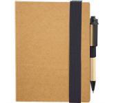 "5.5""x 7"" Eco Perfect Bound Notebk w/ Pen"