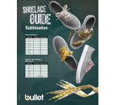 """Full Color Shoelaces - 3/4""""W x 45""""L"""