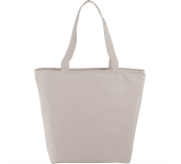 Maine 8oz Cotton Canvas Zippered Tote