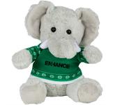 """6"""" Ugly Sweater Plush Elephant"""