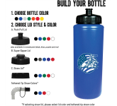 32 oz. Classic Squeeze Sports Bottle