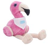 """6"""" Plush Flamingo with Bandana"""
