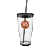 24 oz. Biggie Tumbler With Straw