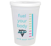 16 oz. Shaker Stadium Cup With Lid