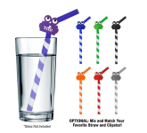GreenPaxx Tie-Dye Cool Straw With Clipster