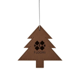 Leatherette Ornament - Tree