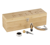 Bamboo Wine Case Set