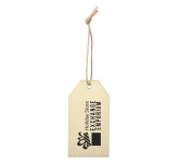 Wood Ornament - Gift Tag