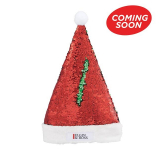Snazzy Sequin Santa Hat