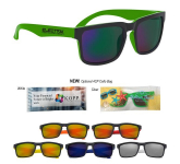 Crescent Mirrored Sunglasses