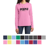 Port & Company Ladies Long Sleeve Core Cotton Tee