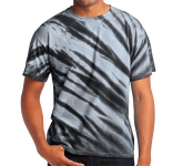 Port & Company Tiger Stripe Tie-Dye Tee