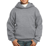 Port & Company Youth Core Fleece Pullover Hooded Sweatshirt
